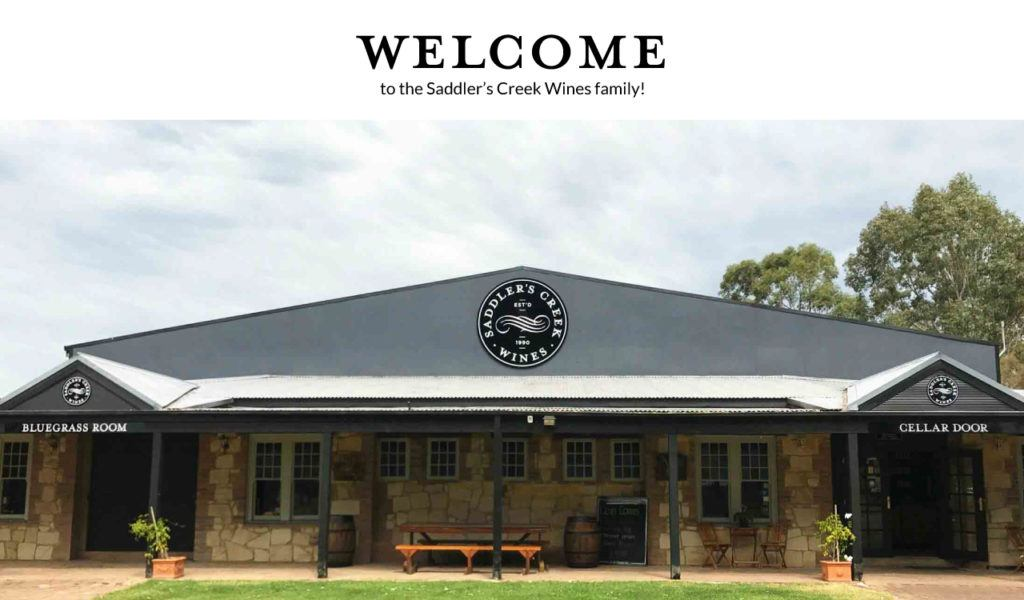 Welcome to Saddler's Creek Wines
